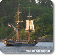 Photo of the Lady Washington ship