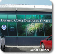 Photo of the Olympic Coast Discovery Center