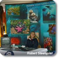 photo of an Olympic Coast outreach exhibit