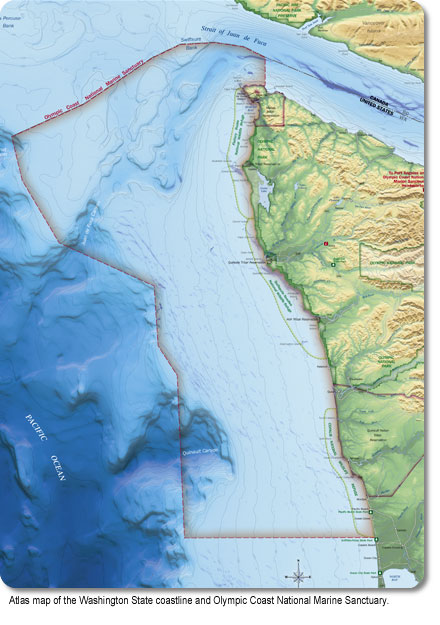 Olympic Coast - Visitor Maps